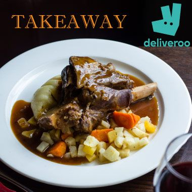 Deliveroo at St John's Chop House