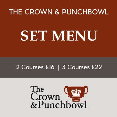 Set Menu at The Crown & Punchbowl