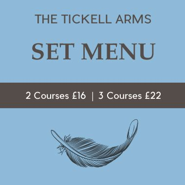 The Tickell - Set Menu