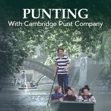 Punting from St John's Chop House