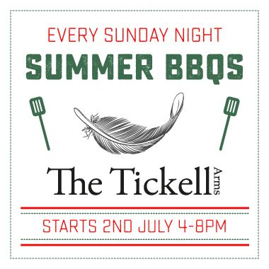 Summer BBQs at The Tickell Arms
